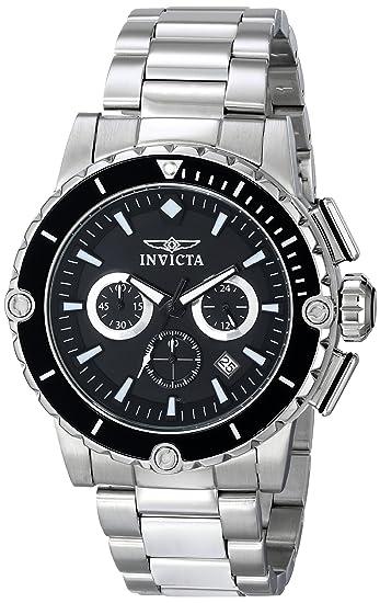 Amazon.com: Invicta Mens 15398 Pro Diver Analog Display Japanese Quartz Silver Watch: Invicta: Watches