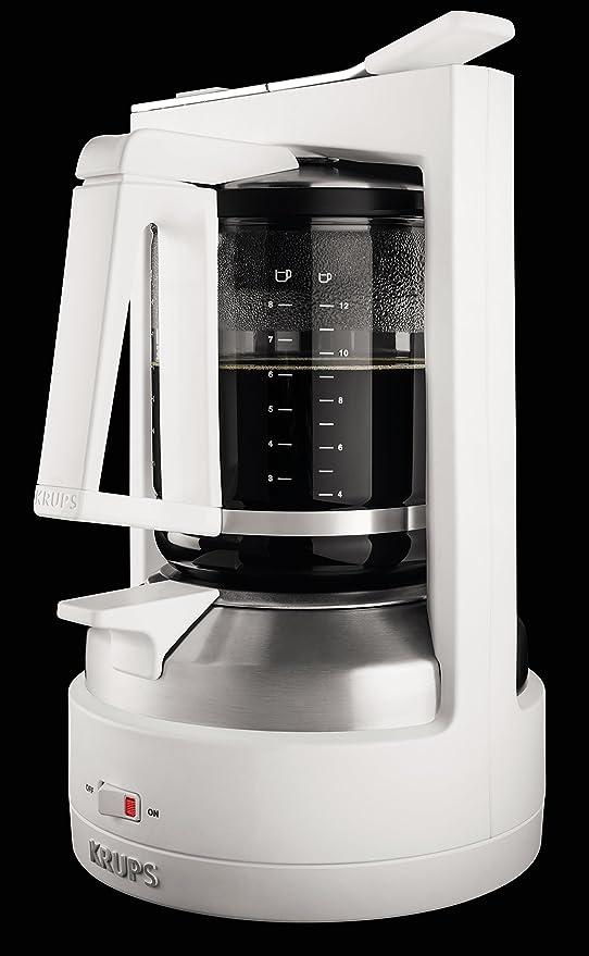 Krups KM468210 - Cafetera de goteo, 850 W, 1 L, acero inoxidable ...