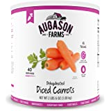 Augason Farms Dehydrated Diced Carrots 2 lbs 6 oz #10 Can