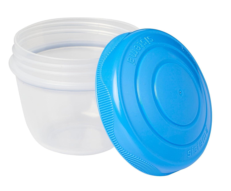 Sistema Confection 2 R/écipients Ronds to go 0,15 litres