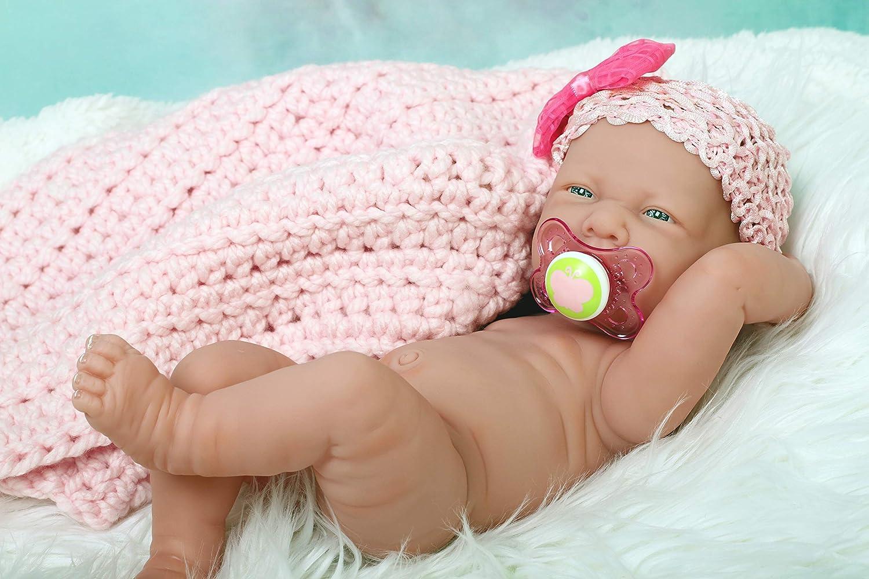 Amazon.com: doll-p Baby Girl Muñeca realista Preemie ...