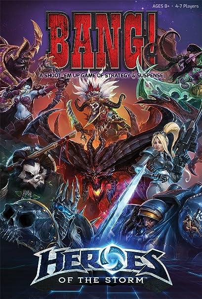 Bang!: Heroes of the Storm: USAopoly: Amazon.es: Juguetes y juegos
