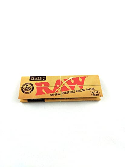 Amazon com: RAW Natural Unrefined 1 25 Rolling Papers - 1
