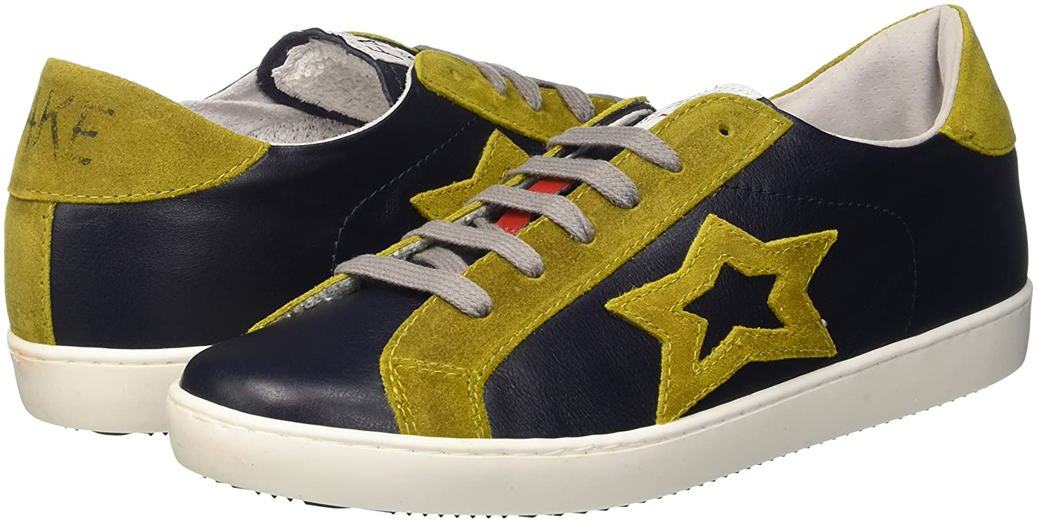 F Adulte Fake Jaune Low Mixte 835Chaussures By Chiodo Basses N0v8nmw