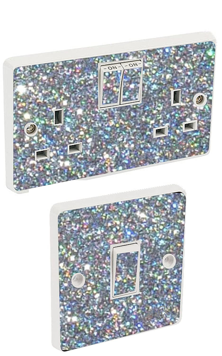 Sparkly Bedroom Wallpaper Muriva 701352 Sparkle Wallpaper Roll Silver Amazoncouk Diy