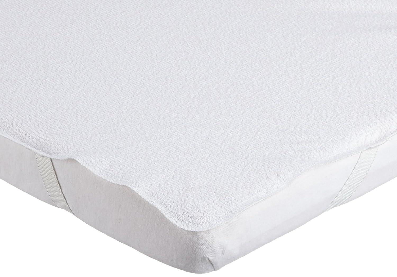 Baumwolle//PU antibakteriell schimmelbest/ändig Wei/ß 60/x/120/cm Looping Unterlaken f/ür Betten