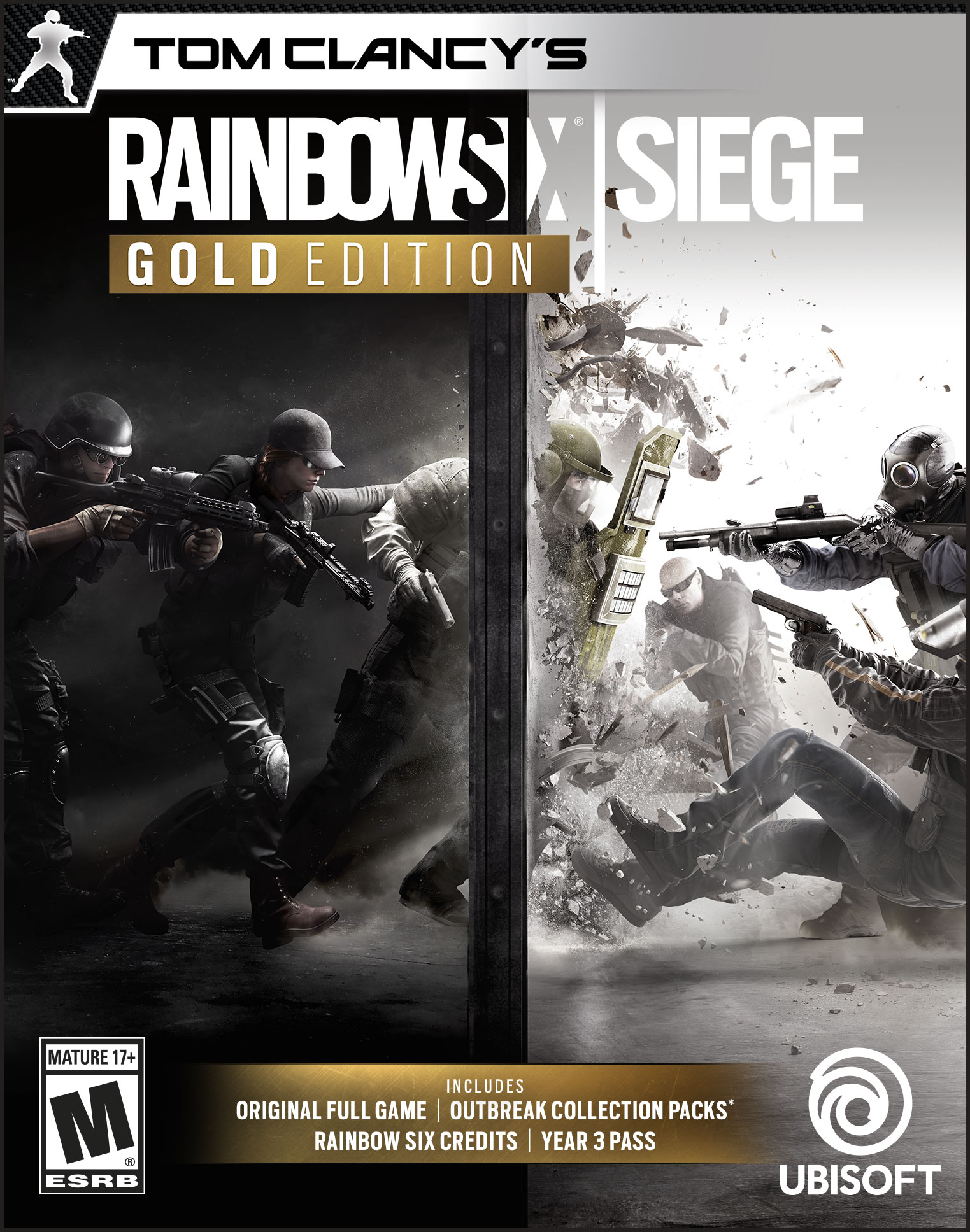 Tom Clancy's Rainbow Six Siege - Gold Edition [Online Game Code] by Ubisoft