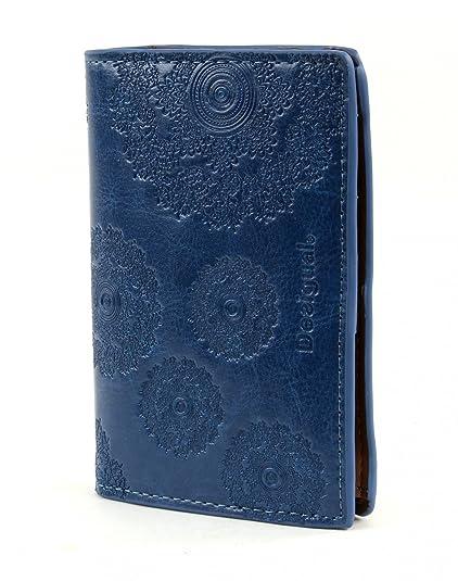 Porte Monnaie Desigual Simple Néograb Nautical Bleu YN Amazon - Porte monnaie desigual