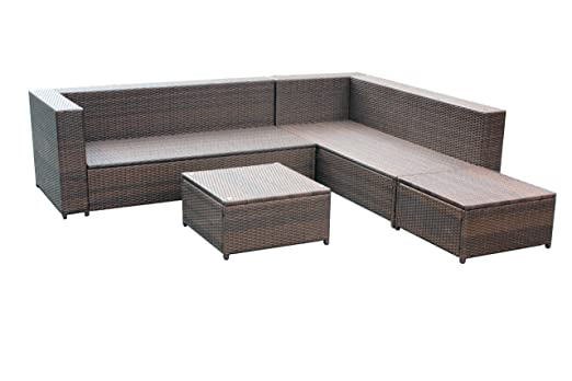 Lounge sofa outdoor günstig  Amazon.de: XINRO XXL 22tlg. Gartenmöbel Lounge Set günstig + 1x ...