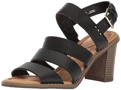 Dr. Scholl's Shoes Women's Parkway Dress Sandal, Black, ...