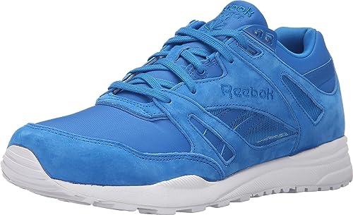 517664a6fe7 Reebok Lifestyle Men s Ventilator SMB Blue Sport White Sneaker 8 D ...