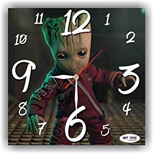 Art time production Guardians of The Galaxy's Groot 11