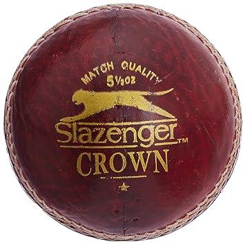 d90ecc3dd1f Slazenger Crown Cricket Ball, (Red): Amazon.in: Sports, Fitness & Outdoors