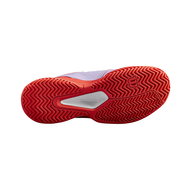 RUSH COMP W Pour tout type de terrain Convient aux joueurs de tout niveau Tissu Synth/étique Wilson Femme Chaussures de Tennis