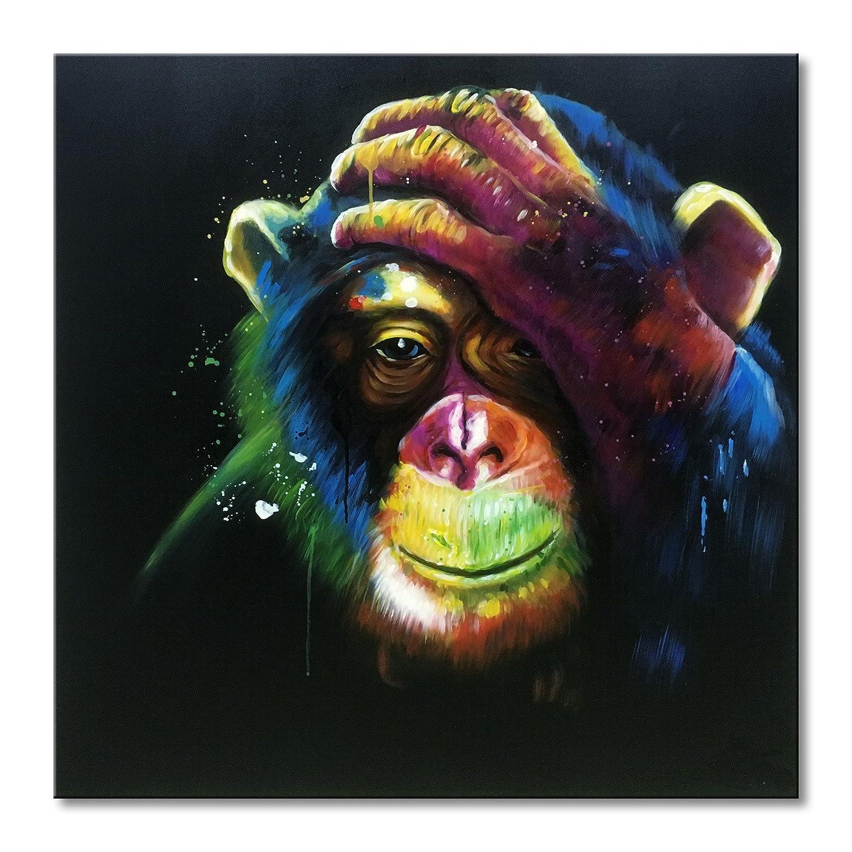 Amazoncom EVERFUN ART Everfun Animal Monkey Modern