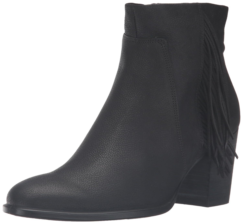 ECCO Women's Shape 55 Bootie Boot B01A9IP5YI 36 EU/5-5.5 M US|Black Nubuck