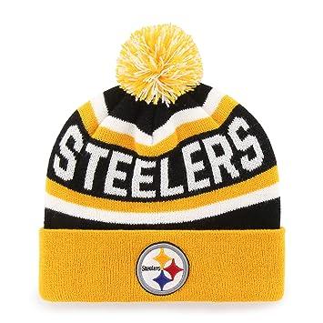 8c8c3eef7e7 NFL Pittsburgh Steelers Jasper OTS Cuff Knit Cap with Pom