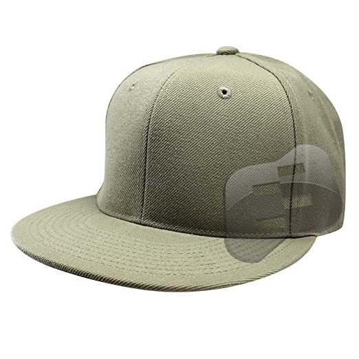 Enimay Baseball Hats Caps Flat Bill Solid Color No Logo (MANY COLORS ... 794fcb97933