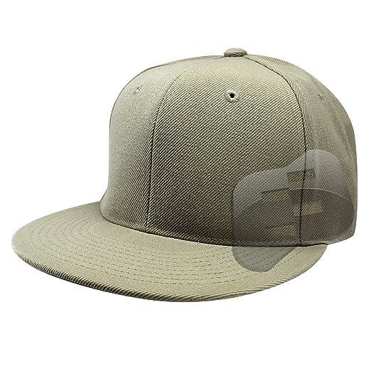 Enimay Baseball Hats Caps Flat Bill Solid Color No Logo (MANY COLORS ... 5d35f2bdb78