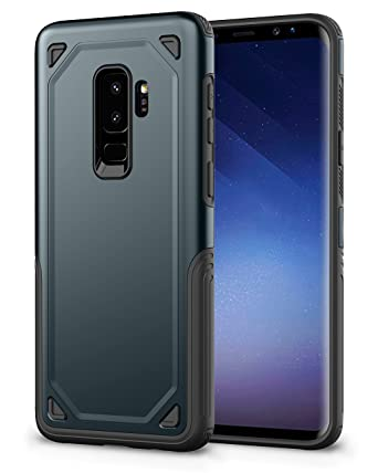 Amazon.com: Carcasa blindada para Samsung Galaxy S9 Plus, AI ...