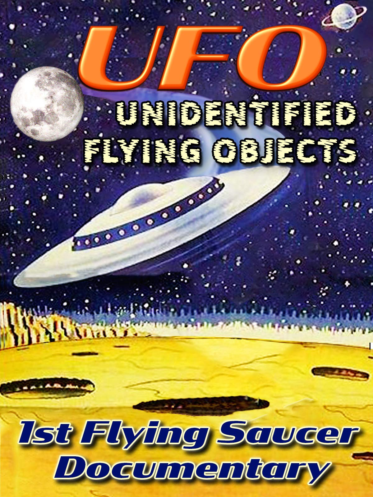 U.F.O.Unidentified Flying Objects - 1st Flying Saucer Documentary