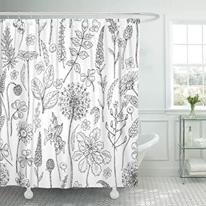 Image Unavailable Not Available For Color TOMPOP Shower Curtain Wildflowers