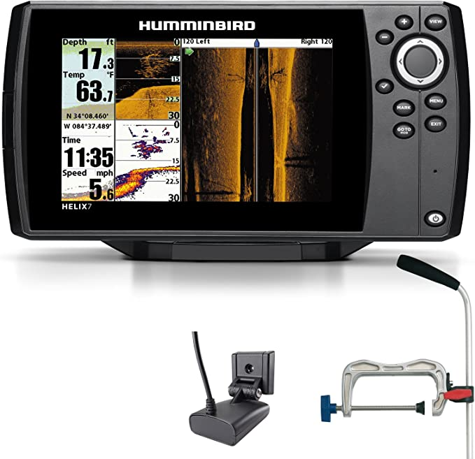 Humminbird Helix 7 SI GPS Side Imaging Echolot Seekarten plotter ...