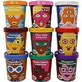 Coconut Bliss Non-Dairy Frozen Dessert   Dairy Free, Organic Coconut Milk Ice Cream   9 Flavor Variety   Vegan, Soy Free, Pla