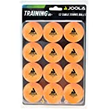 JOOLA Training 3 Star Table Tennis Balls 12, 60, or 120 Pack - 40mm Regulation Bulk Ping Pong Balls for Competition and Recre