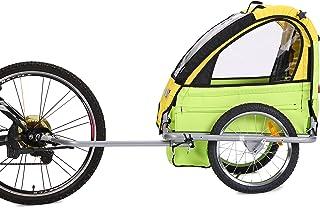 Fiximaster Fahrradanhänger für baby BT505 Gelb Grün