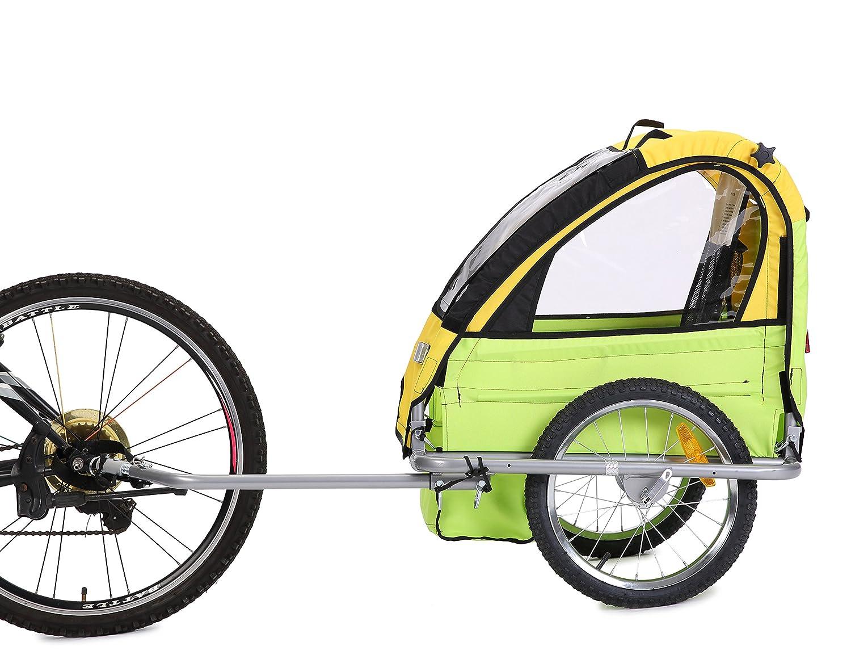 fiximaster *2018 Sommerangebote*Fahrradanhänger/Anhänger/Transportwagen für Baby und Fahrrad Model BT505