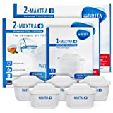 BRITA 5 Pack Water Filter Cartridge Replacement | MAXTRA+ Refills for Water Purifier | Kitchen Accessory - White