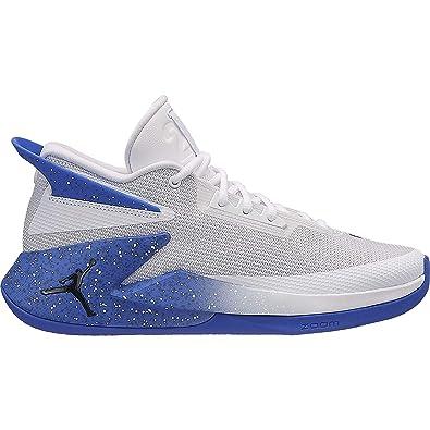 Jordan Fly Lockdown, Zapatillas de Baloncesto para Hombre, (White/Black/Hyper Royal 104), 40 EU: Amazon.es: Zapatos y complementos