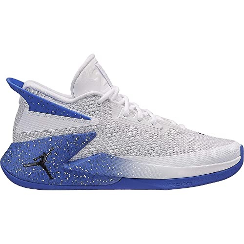 Jordan Fly Lockdown, Zapatillas de Baloncesto para Hombre, (White/Black/Hyper