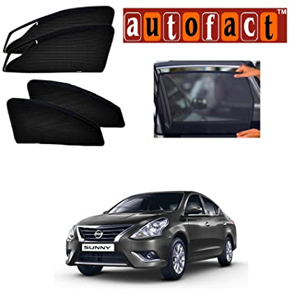 Autofact Car Accessories Zipper Magnetic Sunshades (Nissan Sunny ...