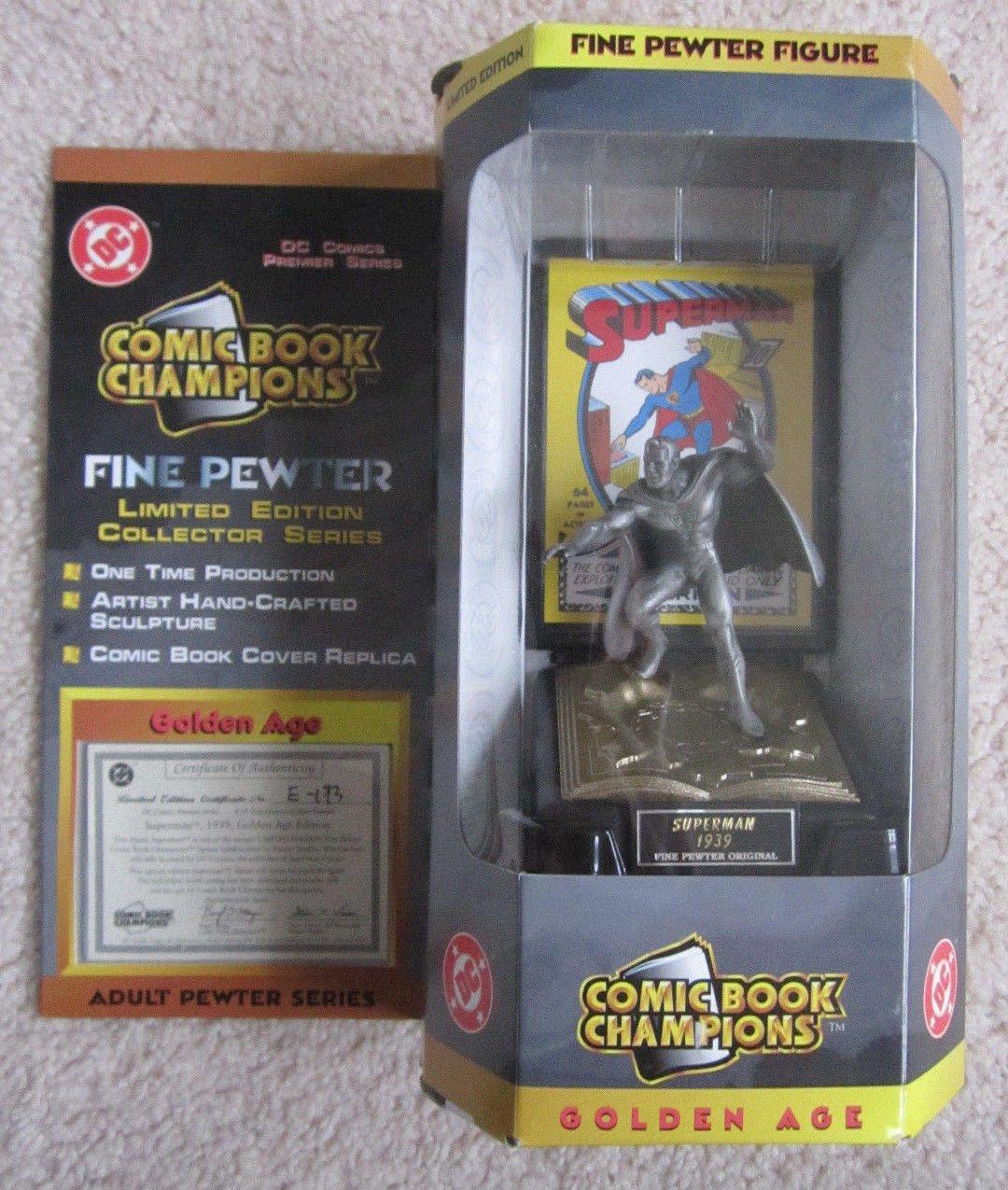 Superman, Comic Book Champions Figure - Golden Age