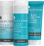 Paula's Choice--CLEAR Extra Strength Acne Travel Kit--2% Salicylic Acid & 5% Benzoyl Peroxide--for Severe Stubborn Acne and Blemishes