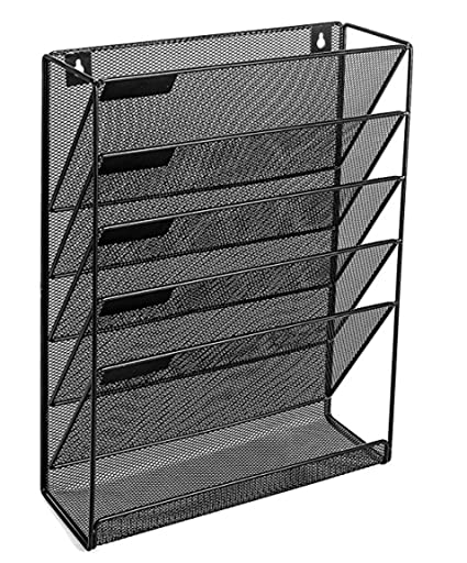 Wonderful Vertical File Organizer For Home And Office | Mail Holder, Magazine Rack  And File Storage