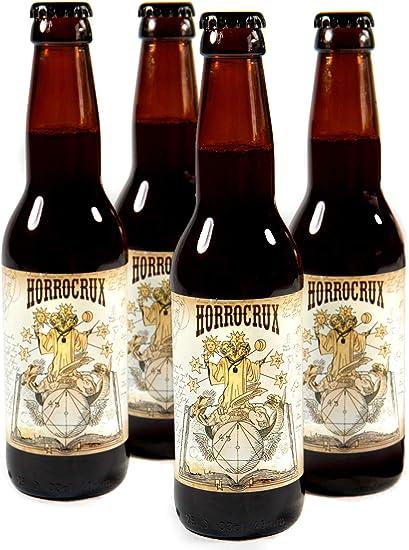 PACK 4 Cervezas de Mantequilla con Alcohol Horrocrux Harry Potter ...