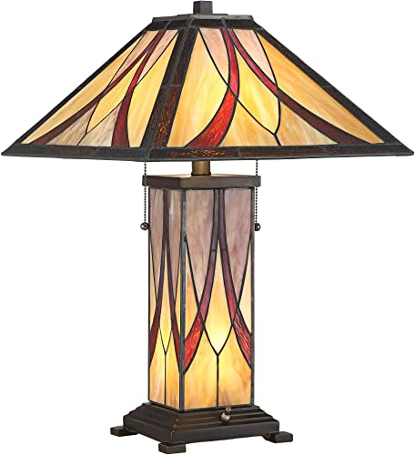 Sedona Collection 3-Tier Console Tiffany Table Lamp – Robert Louis Tiffany