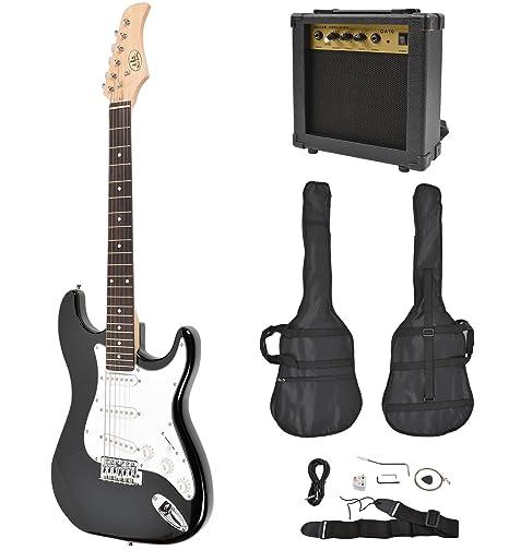 ts-ideen - Set de guitarra eléctrica estilo de ST Pack (incluye ...