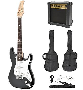 ts-ideen - Set de guitarra eléctrica estilo de ST Pack (incluye set de