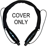 NEW & IMPROVED Fleece MySoftCover Headset Cover to fit LG Tone/Plus/Pro/Ultra/INFINIM (Short Style Black)