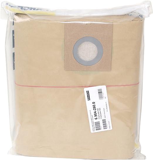 Kärcher 6.904 290 Lot de 5 sacs en papier filtrant pour aspirateur NT 271 ME