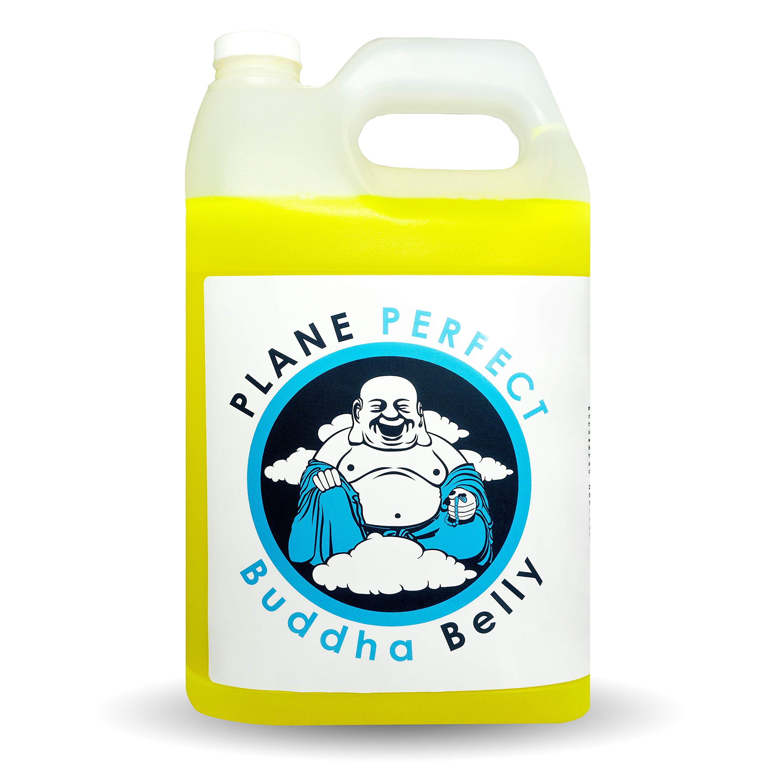 Plane Perfect Buddha Belly Plant Based Degreaser Aviation, Automotive and Motorcycle Cleaner Removes Oil, Dirt, Grime, Bugs, Motor Engine and Auto Exhaust Stains and More (Gallon Refill) by Plane Perfect