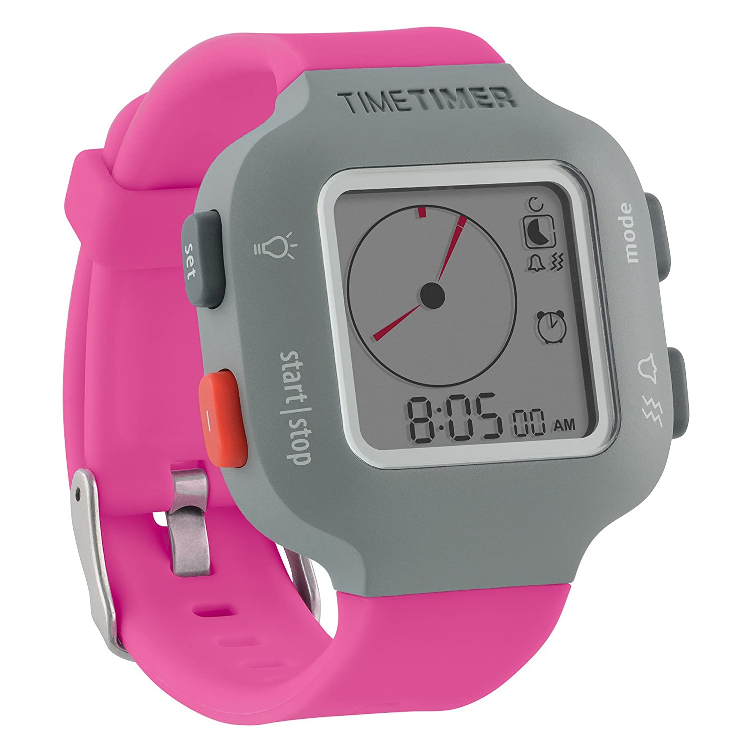 Time Timer Watch Plus Youth colour: berry: Amazon.es ...