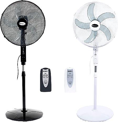 Maxell Power CE Ventilador DE PIE con Mando A Distancia 16 ...