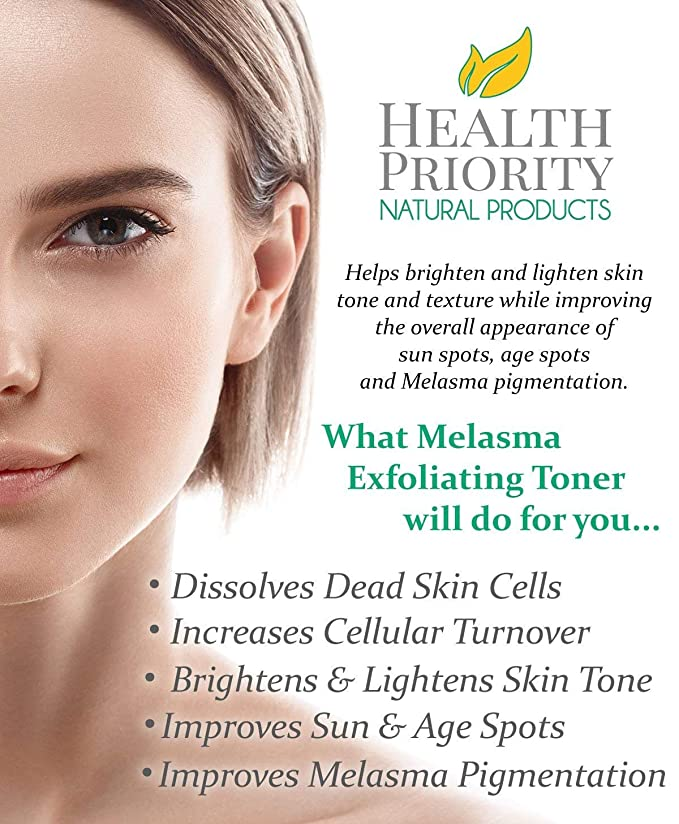 will organic products and diet help my melasma
