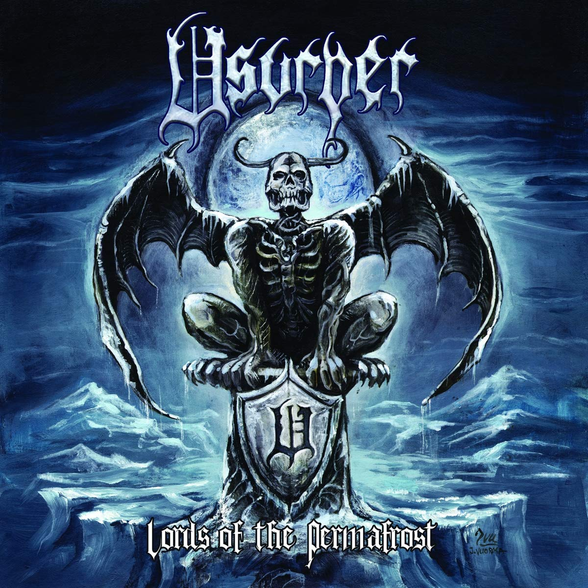 CD : Usurper - Lords Of The Permafrost (CD)