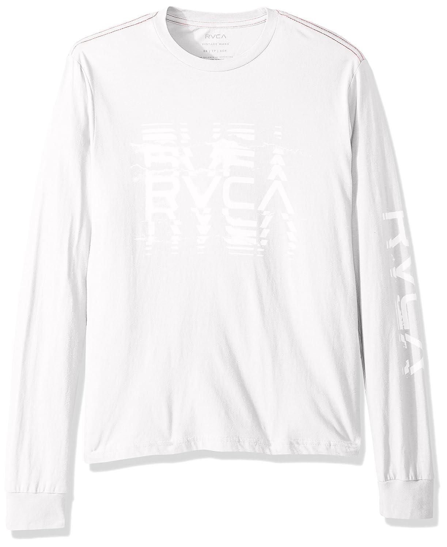RVCA Men's Big Torn Long Sleeve T-Shirt M453PRBI